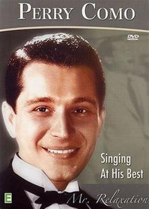 Rent Perry Como Singing at His Best Online DVD Rental