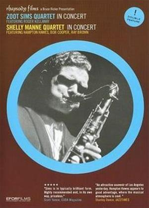 Rent Zoot Sims Quartet In Concert / Shelly Manne Quartet: In Concert Online DVD Rental