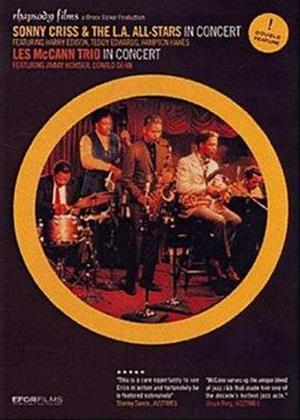 Rent Sonny Criss and the LA All Stars Concert / Les McCann Trio in Concert Online DVD Rental