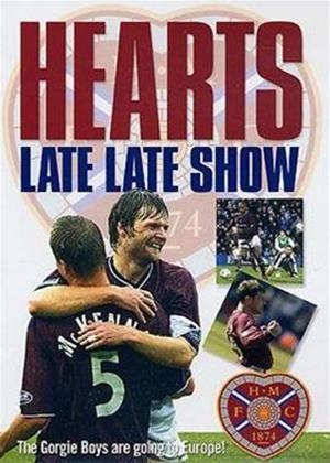 Rent Heart of Midlothian FC: Hearts Late Late Show Online DVD Rental