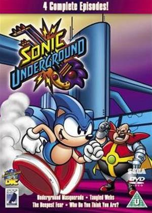 Rent Sonic the Hedgehog: Sonic Underground: Vol.2 Online DVD Rental