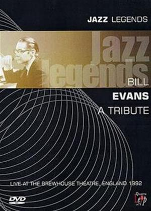 Rent Jazz Legends: Bill Evans: A Tribute Online DVD Rental