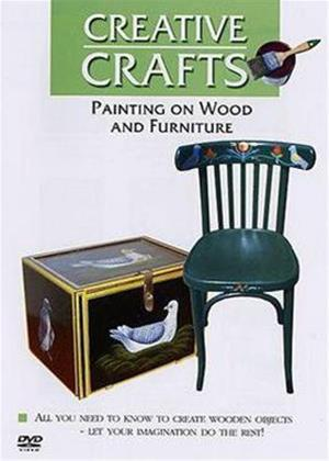 Rent Creative Crafts: Painting on Wood and Furniture Online DVD Rental