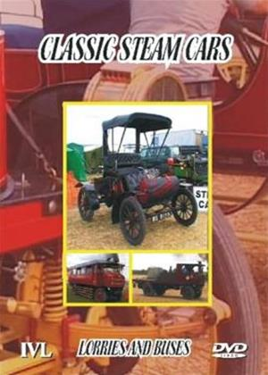 Rent Classic Steam Cars, Lorries and Buses Online DVD Rental