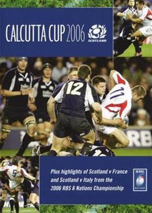 Rent Calcutta Cup 2006: Scotland Online DVD Rental