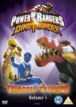 Rent Power Rangers: Dino Thunder: Triassic Triumph: Vol.5 Online DVD & Blu-ray Rental