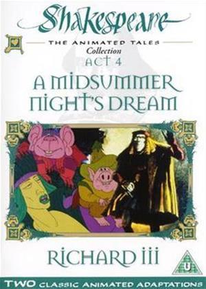 Rent Shakespeare: A Midsummer Night's Dream / Richard III Online DVD Rental
