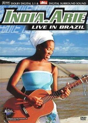 Rent India Arie: Live in Brazil Online DVD Rental