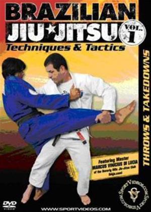 Rent Brazilian Jiu Jitsu Techniques and Tactics 1: Throws and Takedowns Online DVD & Blu-ray Rental