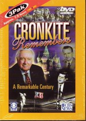 Rent Cronkite Remembers a Remarkable Century Online DVD Rental