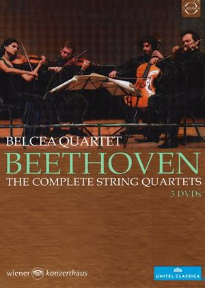 Rent Belcea Quartet: Beethoven: The Complete String Quartets Online DVD Rental