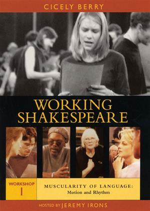 Rent Working Shakespeare: Workshop 1: Muscularity of Language: Motion and Rhythm Online DVD Rental