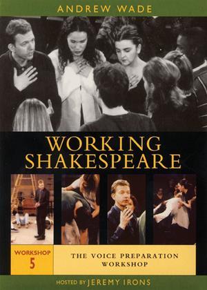 Rent Working Shakespeare: Workshop 5: Voice Preparation Online DVD Rental