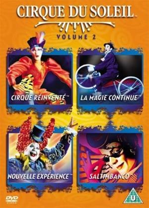 Rent Cirque du Soleil: Nouvelle Experience Online DVD Rental