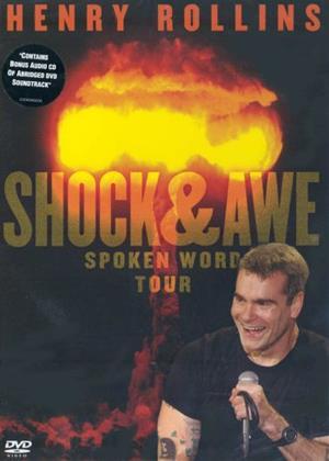 Rent Henry Rollins: Shock and Awe: Spoken Word Online DVD Rental