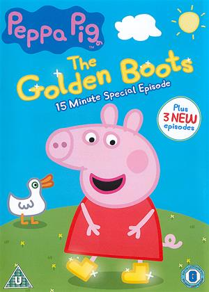Rent Peppa Pig: The Golden Boots Online DVD & Blu-ray Rental