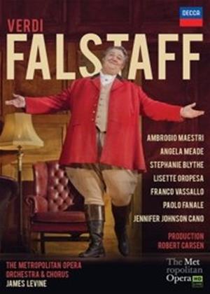Rent Falstaff: The Metropolitan Opera Orchestra and Chorus (Levine) Online DVD Rental