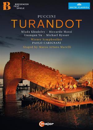 Rent Turandot: Bregenz Festival (Carignani) Online DVD & Blu-ray Rental