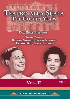 Rent Teatro Alla Scala: The Golden Years: Vol.2 Online DVD Rental