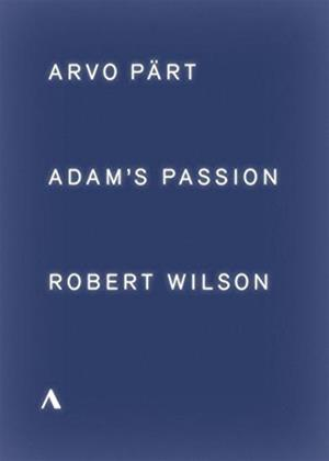 Rent Adam's Passion: Arvo Pärt/Robert Wilson Online DVD Rental