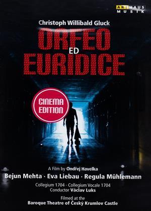 Rent Orfeo Ed Euridice: Baroque Theatre of Ceskÿ Krumlov Castle (Luks) Online DVD Rental