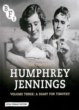 Rent The Complete Humphrey Jennings: Vol.3: A Diary for Timothy Online DVD Rental