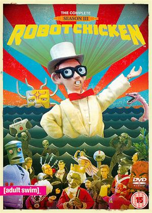 Rent Robot Chicken: Series 3 Online DVD Rental