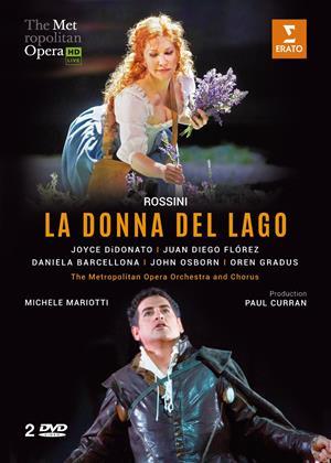 Rent La Donna Del Lago: Metropolitan Opera Online DVD Rental
