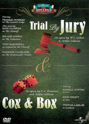 Rent Gilbert and Sullivan: Trial by Jury / Cox and Box Online DVD Rental