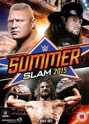Rent WWE: SummerSlam 2015 Online DVD Rental