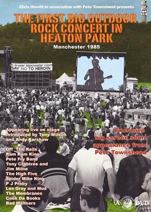 Rent The First Big Outdoor Rock Concert in Heaton Park, Manchester Online DVD Rental