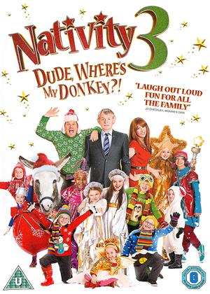 Rent Nativity 3: Dude, Where's My Donkey?! Online DVD Rental
