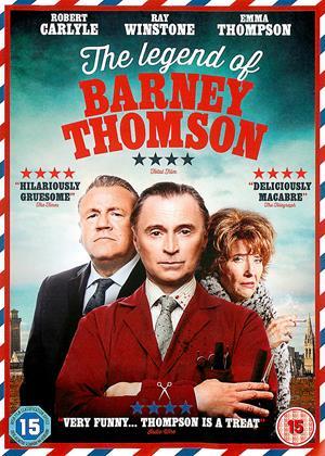 The Legend of Barney Thomson Online DVD Rental