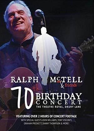 Rent Ralph McTell: 70th Birthday Concert Online DVD Rental