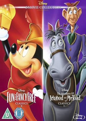 Rent Fun and Fancy Free / The Adventures of Ichabod and Mr. Toad Online DVD Rental