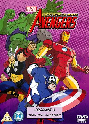 Rent The Avengers: Earth's Mightiest Heroes: Vol.3 Online DVD Rental