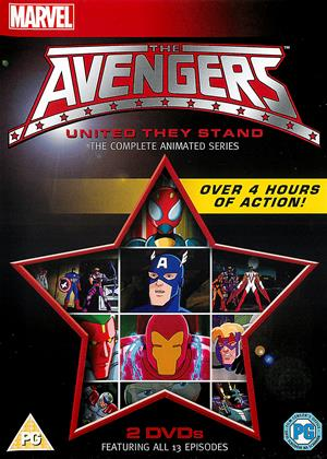 Rent Avengers: United They Stand: Series Online DVD Rental