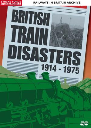 Rent British Train Disasters 1914-1975 Online DVD Rental
