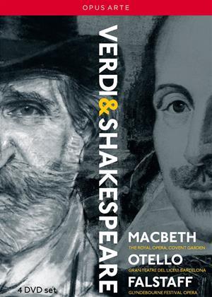 Rent Verdi and Shakespeare: Macbeth/Otello/Falstaff Online DVD Rental