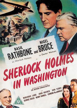Rent Sherlock Holmes in Washington Online DVD Rental