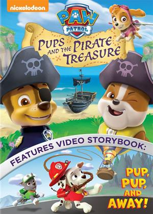 Rent Paw Patrol: Pups and the Pirate Treasure Online DVD Rental