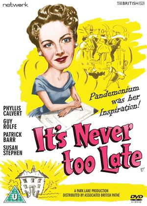 Rent It's Never Too Late Online DVD Rental