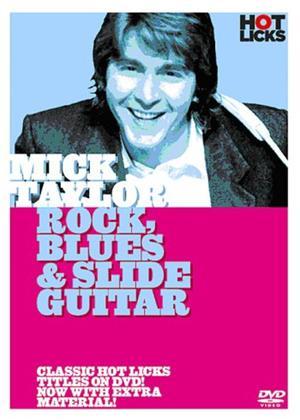 Rent Mick Taylor: Rock Blues and Slide Guitar Online DVD Rental