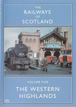 Rent Railways of Scotland: Vol.5: The Western Highlands Online DVD Rental
