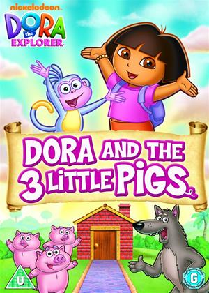 Rent Dora the Explorer: Dora and the Three Little Pigs Online DVD Rental