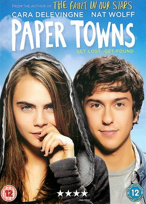 Rent Paper Towns Online DVD Rental