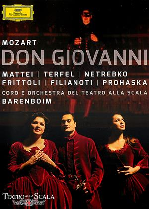 Rent Don Giovanni: Teatro Alla Scala (Daniel Barenboim) Online DVD & Blu-ray Rental