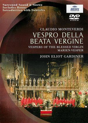 Rent Monteverdi: Vespers of the Blessed Virgin (aka Vespro Della Beata Vergine: The Monteverdi Choir) Online DVD Rental