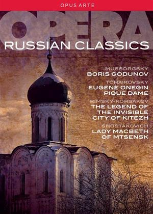 Rent Russian Opera Classics Online DVD & Blu-ray Rental