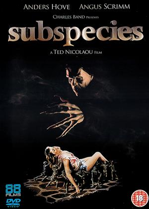 Rent Subspecies Online DVD Rental